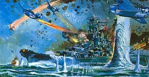 The End of Battleship Yamato by Shigeru Komatsuzaki