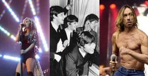Goldfrapp, Iggy Pop, the Beatles