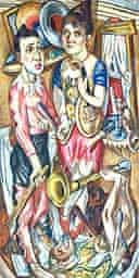 Max Beckmann Carnival (from Tate Degenerate Art)
