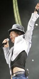 Mick Jagger, Rolling Stones, 2005