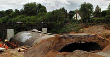 Gerrards Cross Tesco tunnel collapse