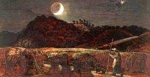 Cornfield by Moonlight, Samuel Palmer