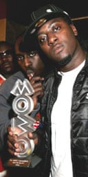 Rapper Sway at the Mobos 2005