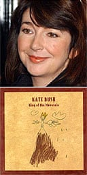 Kate Bush and the cover of her first single in 12 years