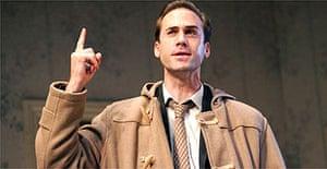 Joseph Fiennes in Epitaph for George Dillon, Comedy Theatre, London