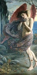 Simeon Solomon, Love Revealed, Birmingham Museum and Art Gallery