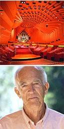 Sydney Opera House concert hall, designed by Jorn Utzon