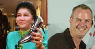 Fatboy Slim and Imelda Marcos