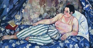 The Blue Room (La chambre bleu) by Suzanne Valadon