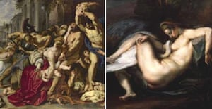 The Massacre of the Innocents and Leda and the Swan by Rubens