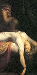 Detail from The Nightmare, 1781, by Henry Fuseli