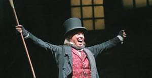 Scrooge, Palladium, London