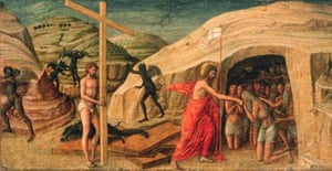 Christ's Descent into Limbo by Bellini, 15th century, Museo Civico, Padua, Italy