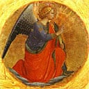 Angel of the Annunciation, from the Perugia triptych, by Fra Angelico