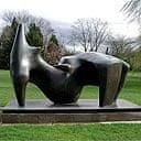 Henry Moore, Reclining Figure 1969-70, stolen 17 December 2005