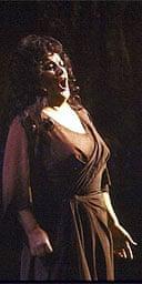 Birgit Nilsson as the Dyer's Wife in Richard Stauss's Die Frau ohne Schatten at the Metropolitan Opera, New York