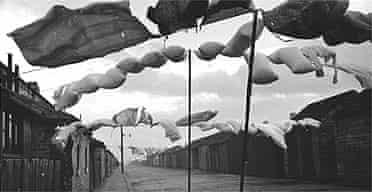 Washing line, by Humphrey Spender, c1937-38