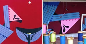 Patrick Caulfield tapestry for the British Library