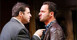 Brendan Coyle and Andrew Licoln in The Late Henry Moss, Almeida, January 2006