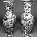 Qing dynasty vases, Fitzwilliam  museum