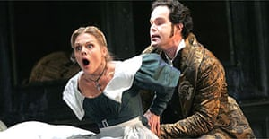 Miah Persson and Gerald Finley in Le Nozze di Figaro, ROH, London