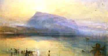 The Blue Rigi by JMW Turner