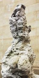 Clay sculpture by Rebecca Warren