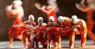 Rite of Spring, Royal Opera House, 2005