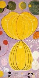 Detail from The Ten Biggest, No 7, Manhood, Group 4, by Hilma of Klint