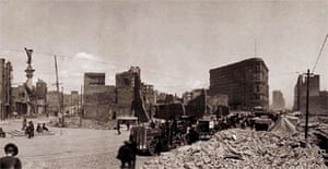 San Francisco following the devastating 1906 earthquake