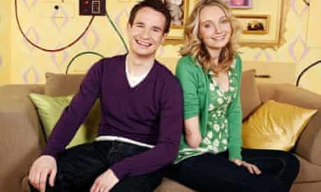 Children's TV presenters Alex Winters and Cerrie Burnell