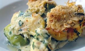 Crumble Crust Fish Pie