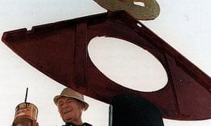Joan Miró paints La Caresse d'un Oiseau,