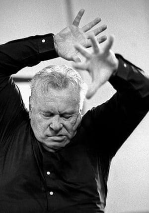 Yevgeny Svetlanov, by Clive Barda