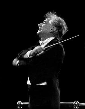 Leonard Bernstein, by Clive Barda