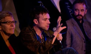 Damon Albarn at ENO's Undress for Opera launch