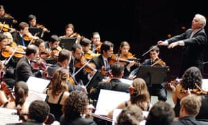 Barenboim and the West Eastern Divan Orchestra