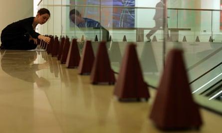 100 metronomes for Ligeti's Poeme Symphonique