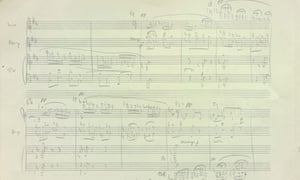 Detail of Britten's Young Person's Guide to the Orchestra