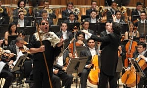 Bryn Terfel with the Simon Bolivar Orch/Dudamel