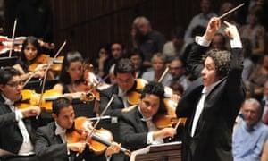 Gustavo Dudamel conducts the Simon Bolivar Symphony Orchestra