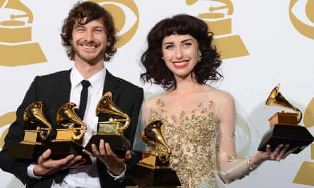 Gotye and Kimbra Grammys 2013