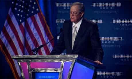 David Koch, founder of Americans for Prosperity
