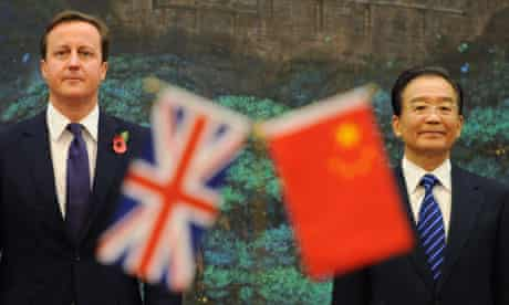 British trade delegation to China