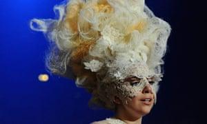 Lady Gaga at the Brit awards