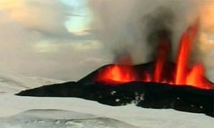 Iceland volcano erruption contines