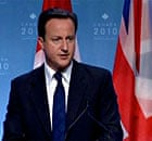David Cameron charms the world's leaders