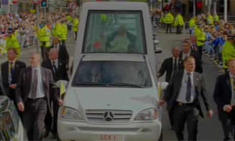 Pope Benedict's visit: day one