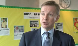 Michael Gove 'inspired' by new free schools