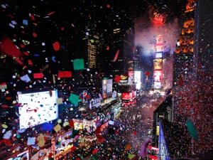 New York's Times Square on New Year's Eve